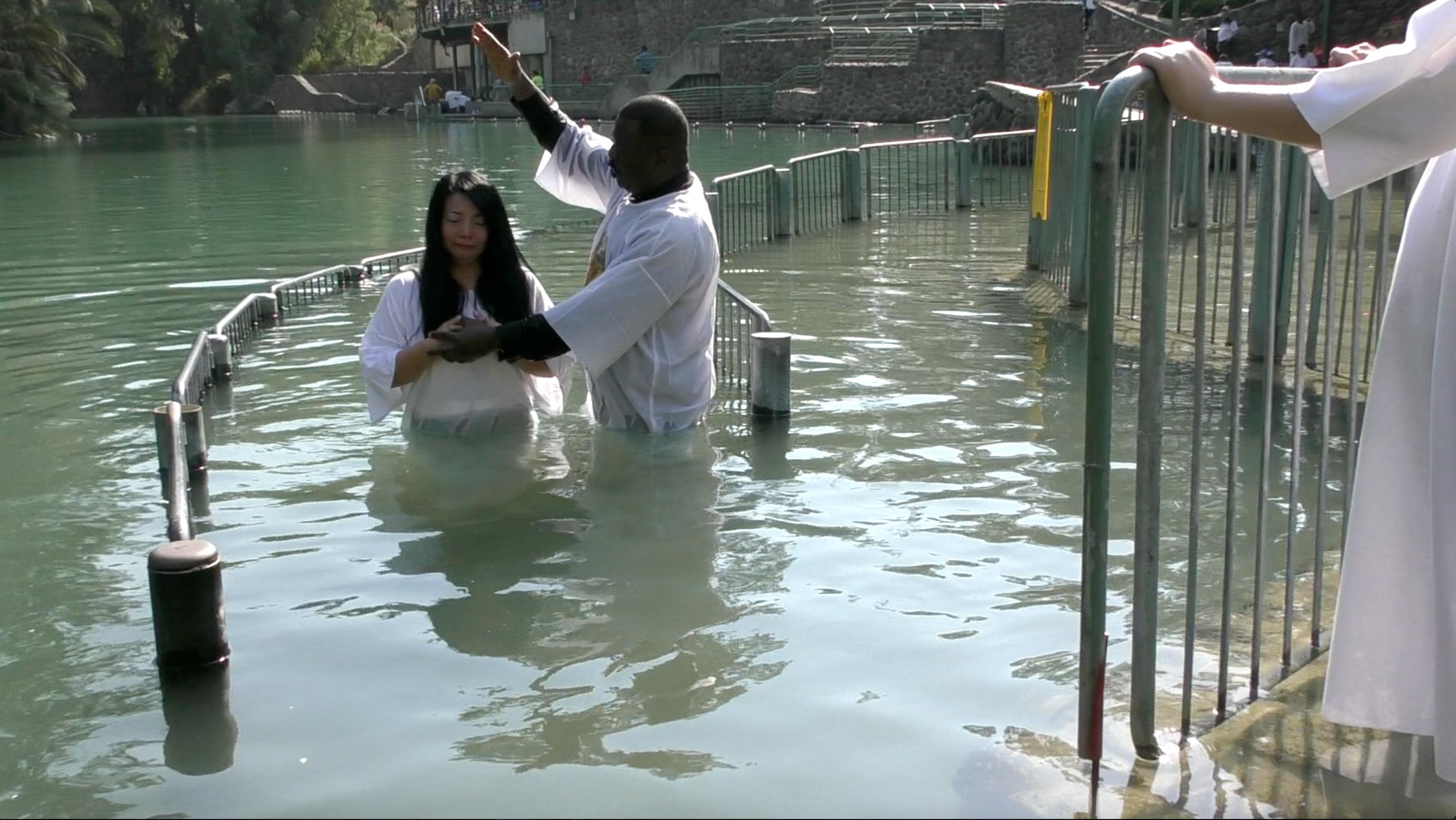 BAPTISM @ RIVER JORDAN