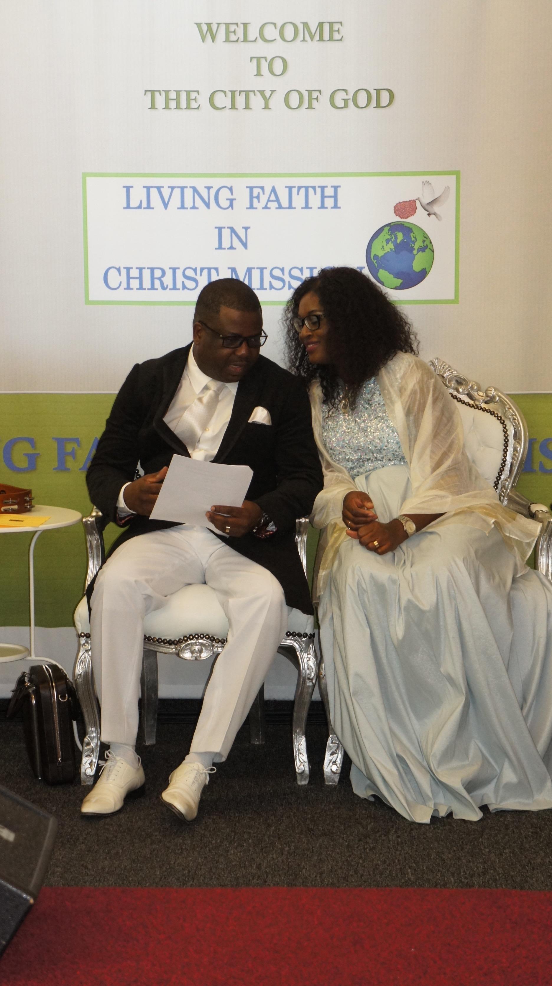PASTOR CHARLES & MINISTER EKEMA
