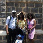 PASTOR CHARLES & FAMILY IN CAPERNAUM, ISRAEL